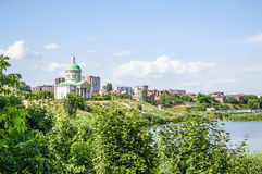 Armenian Church of the Holy Cross `Surb Khach` in Rostov-na-Donu Royalty Free Stock Photo