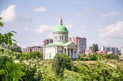 Armenian Church of the Holy Cross `Surb Khach`  in Rostov-na-Donu Stock Photo