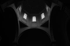 Armenian church  interior. Royalty Free Stock Photo