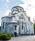 Armenian Church of St. Ripsime in Yalta. Armenian Church of St. Ripsime stands on a high hill in Yalta Stock Images