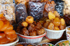 Armenian Dried Sweet Fruits In Market Royalty Free Stock Image