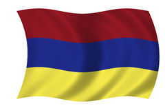 Armenian flag Royalty Free Stock Photography