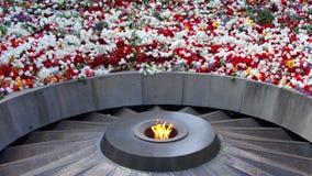 Armenian Genocide. Genocide Memorial in Yerevan, Armenia Royalty Free Stock Images