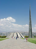The Armenian Genocide Memorial Royalty Free Stock Images