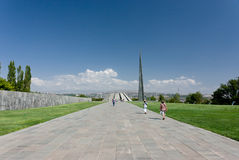 The Armenian Genocide Memorial Stock Photo