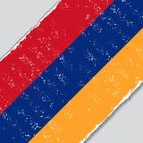 Armenian grunge flag. Vector illustration. Royalty Free Stock Photo