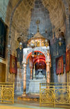 Armenian Сhapel - Division Of Holy Robes. Church of the Holy Sepulchre. Israel, Jerusalem Royalty Free Stock Photo