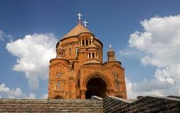 Armenian kerk Stock Foto's