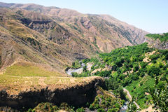 Armenian landscape Royalty Free Stock Photography