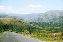Armenian landscape Stock Photo