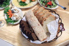 Armenian lavash and bread Royalty Free Stock Photos