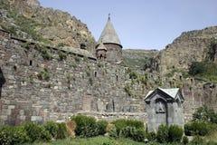 Armenian monastery. Armenia. Gehard - old monastery in mountains stock photos