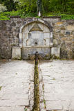 Armenian monastery. Saint water Stock Photos