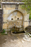 Armenian monastery. Saint water Stock Image