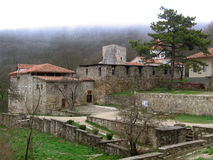 Armenian monastery Surb-Hach. Near  Old Crimea town Stock Photos