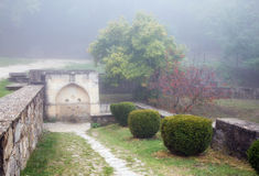 Armenian monastery Surb Khach Crimea Royalty Free Stock Photography