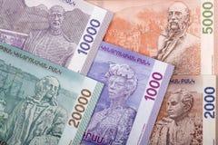 Armenian money - reverse side, a background. Armenian money - reverse side, a business background stock image