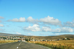 Armenian mountain village stock photography