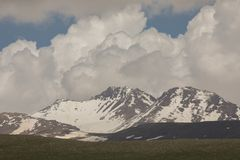 Armenian Mountains Aragats Mountains.  Royalty Free Stock Image