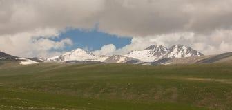 Armenian Mountains Aragats Mountains.  Royalty Free Stock Photos