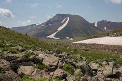Armenian Mountains Geghama Mountains. Ajdahak Stock Photo