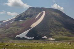 Armenian Mountains Geghama Mountains. Ajdahak Royalty Free Stock Photos