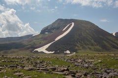 Armenian Mountains Geghama Mountains. Ajdahak Stock Photos