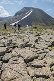 Armenian Mountains Geghama Mountains. Ajdahak Stock Photography