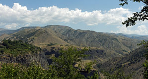 Armenian mountains. royalty free stock images