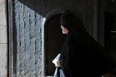 Armenian orthodox priest Royalty Free Stock Photos