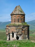 Armenian ruins. Ruined Armenian church in the city of Ani in Eastern Turkey Stock Photo
