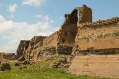 Armenian ruins erosion Royalty Free Stock Images