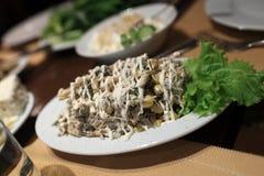Armenian salad Stock Image