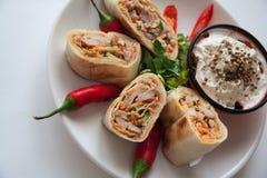 Armenian shawarma Stock Images