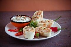 Armenian shawarma Royalty Free Stock Images