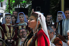 Armenian singer Stock Photo
