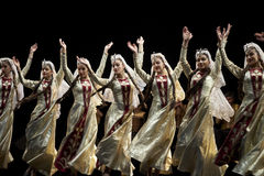 Armenian State Pedagogical University Dance Ensemble dancers stock photos
