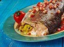 Armenian Trout dish royalty free stock photo