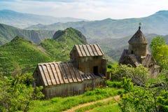Armenian Tsakhats Kar Monastery Stockbild