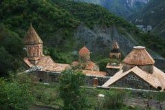 Armenien. Ansicht des Dadivank Klosters Lizenzfreie Stockfotografie
