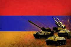 Armenien armé, krigsmakter Arkivbild