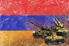 Armenien armé, krigsmakter Arkivfoto