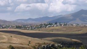 Armenien, Autumn Colors in Aragazotn-Provinz lizenzfreie stockfotografie