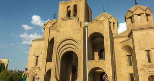 Armenien, Eriwan, St Gregory die Belichtungseinheit Cathedral, 8.-13. August - 2016 stock footage