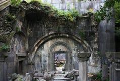 Armenien. Ruinen des Tempels Stockbilder