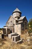 Armenien, Tsahats-karkloster in den Bergen, die Kirche von Jahrhundert 10 Stockfotografie