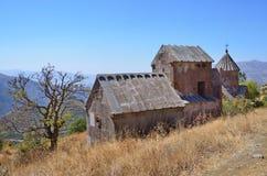 Armenien, Tsahats-karkloster in den Bergen, die Kirche von Jahrhundert 10 Lizenzfreie Stockbilder