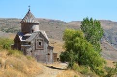 Armenien, Tsahats-karkloster in den Bergen, die Kirche von Jahrhundert 10 Stockfotos
