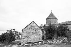 Armenier kyrkliga Achdamar i Anatolien —skåpbil, Turkiet Royaltyfria Foton