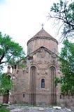 Armenier kyrkliga Achdamar i Anatolien —skåpbil, Turkiet Arkivbild